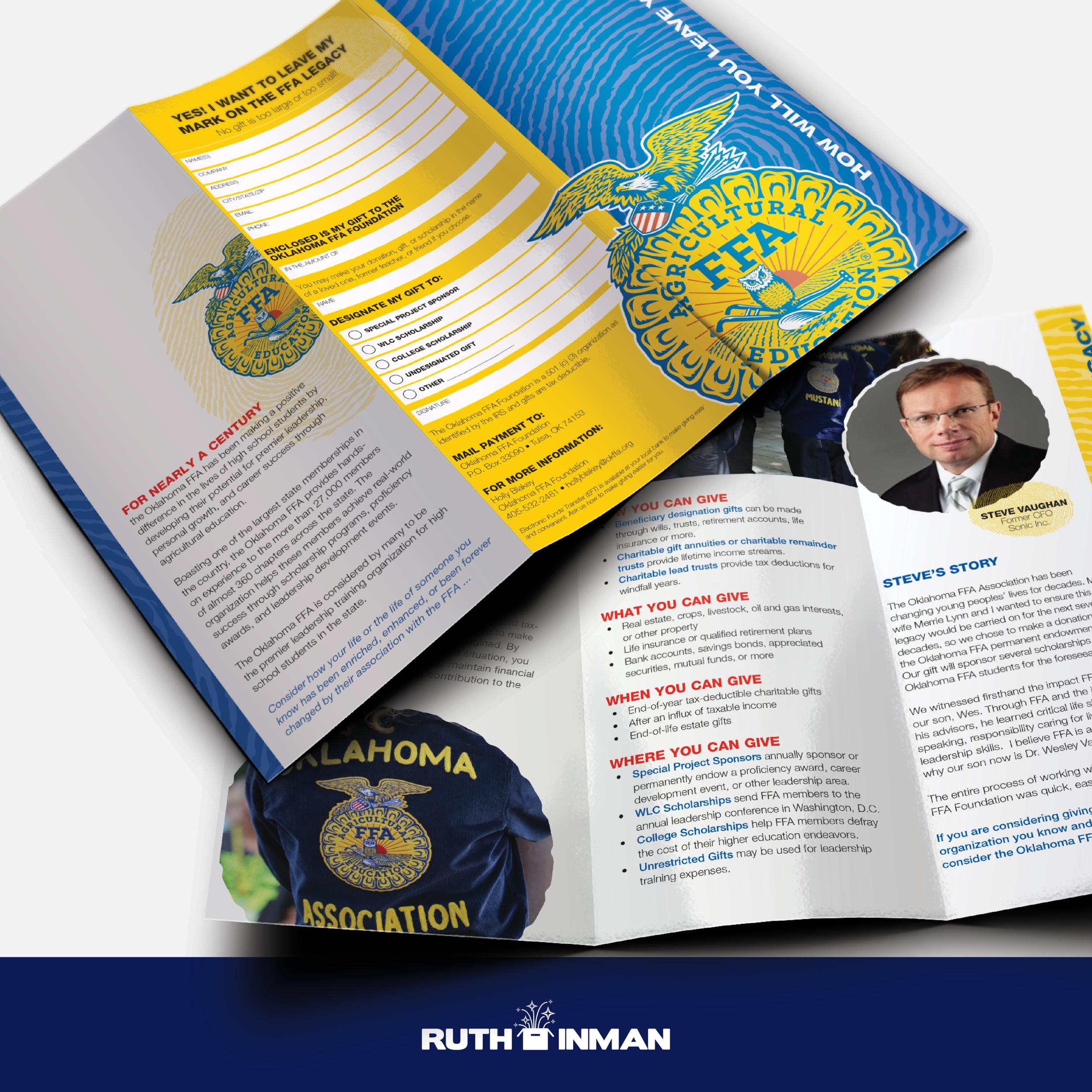 Oklahoma FFA Foundation Brochure