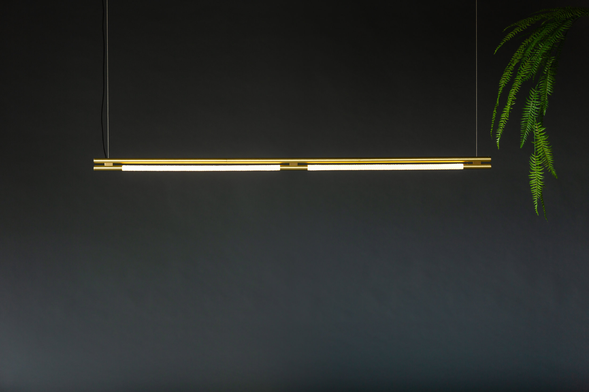 6' Leto Suspension - Cable  (pictured in Satin Brass)