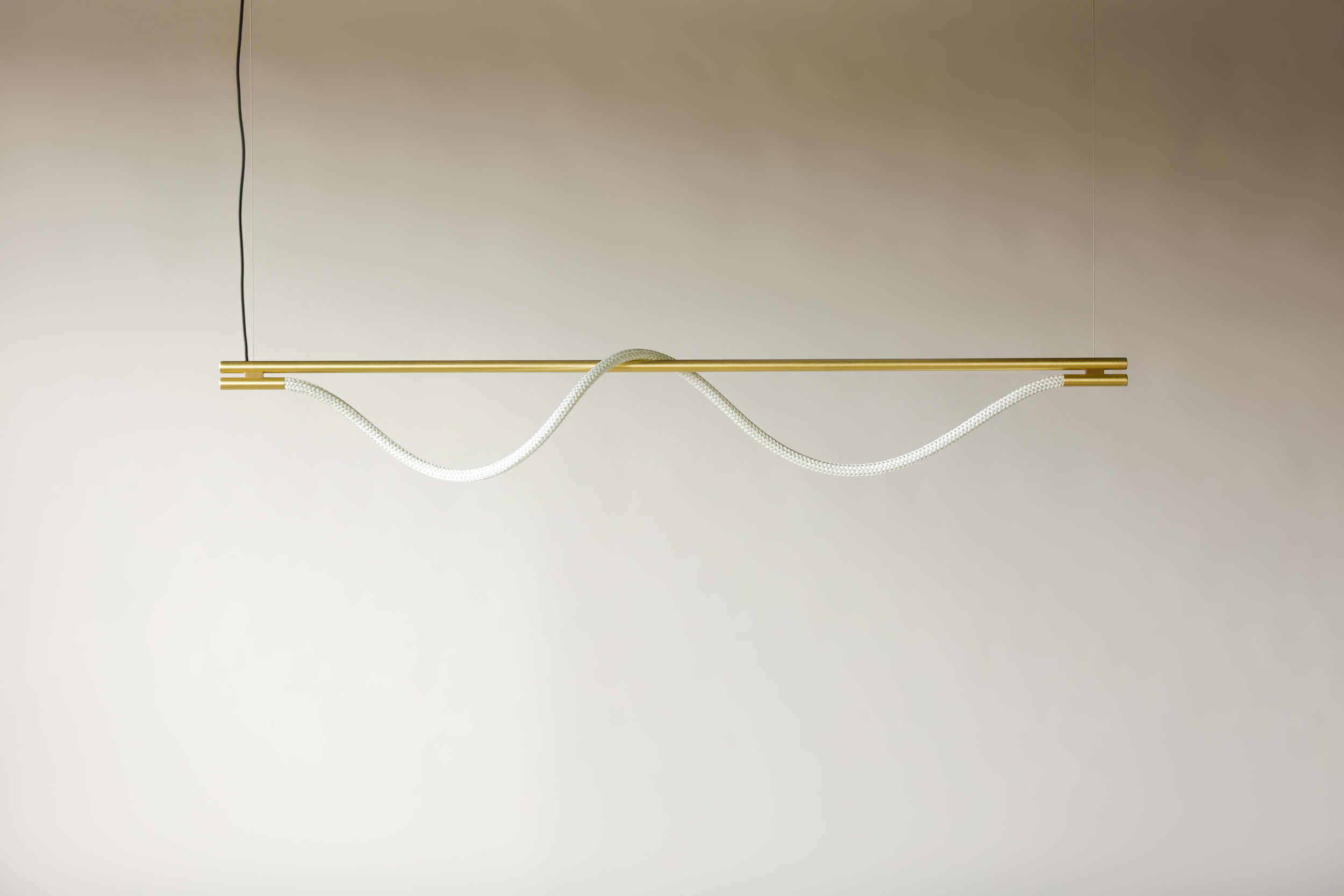 6' Surrey Suspension I - Cable  (pictured in Satin Brass / turned off)
