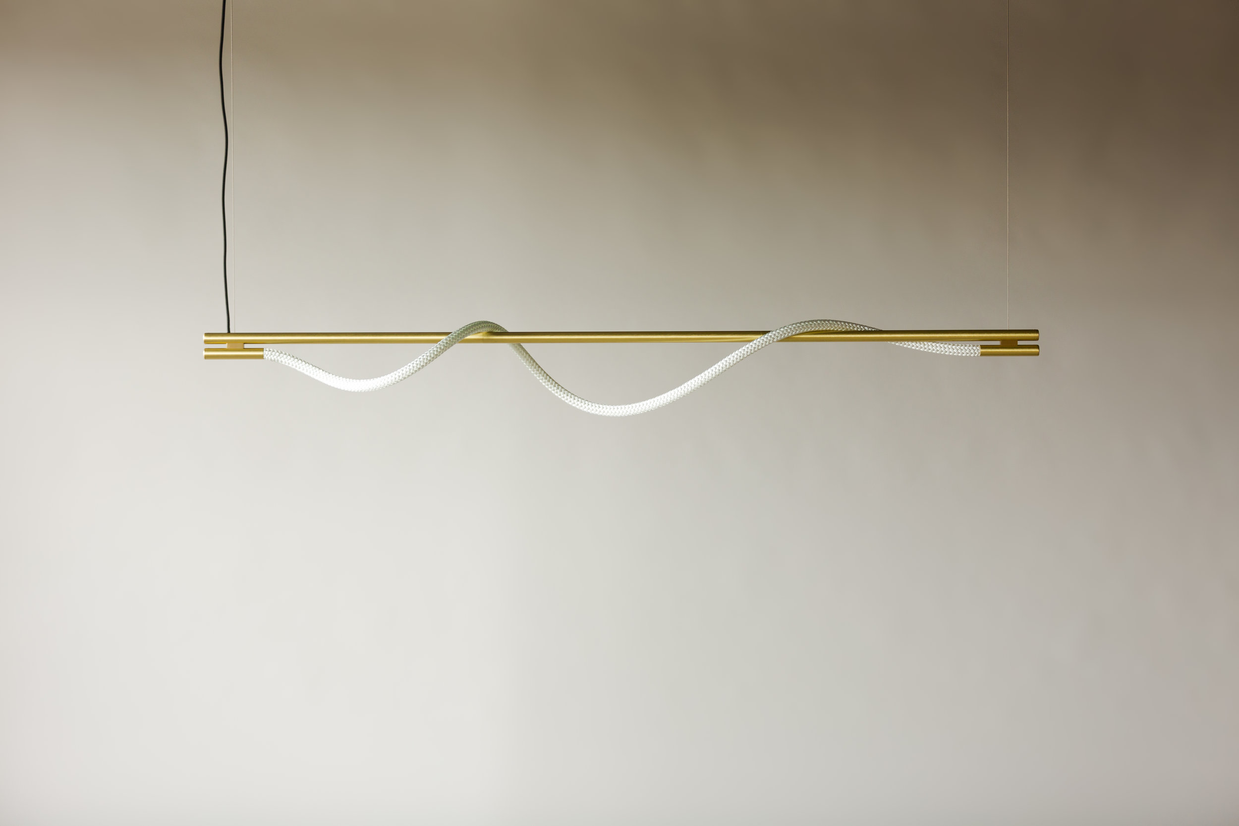 6' Surrey Suspension III - Cable  (pictured in Satin Brass / turned off)