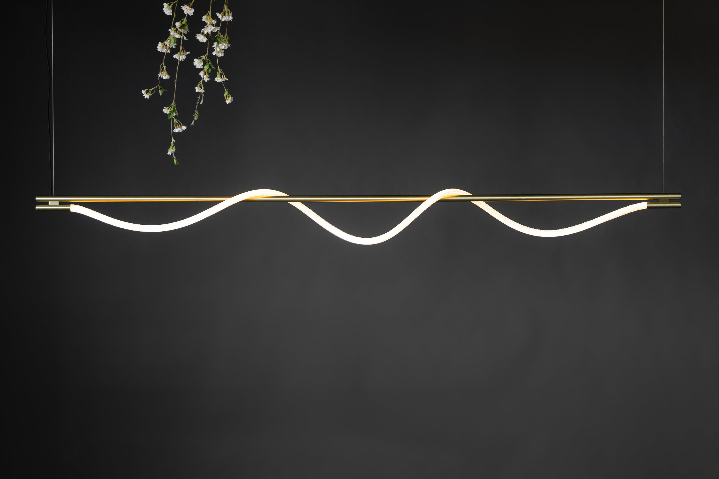 8' Surrey Suspension III - Cable  (pictured in Satin Brass)