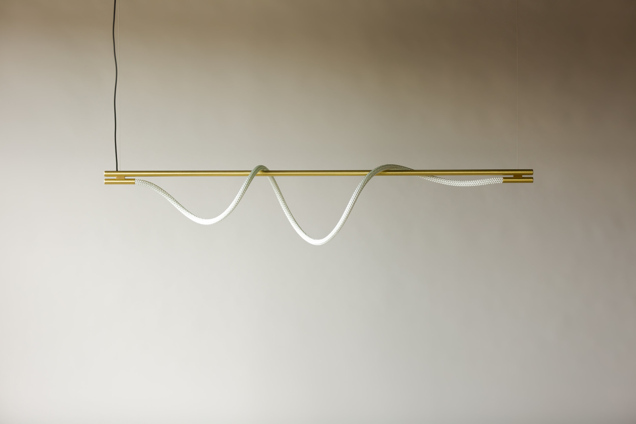 6' Surrey Suspension IV - Cable  (pictured in Satin Brass / turned off)