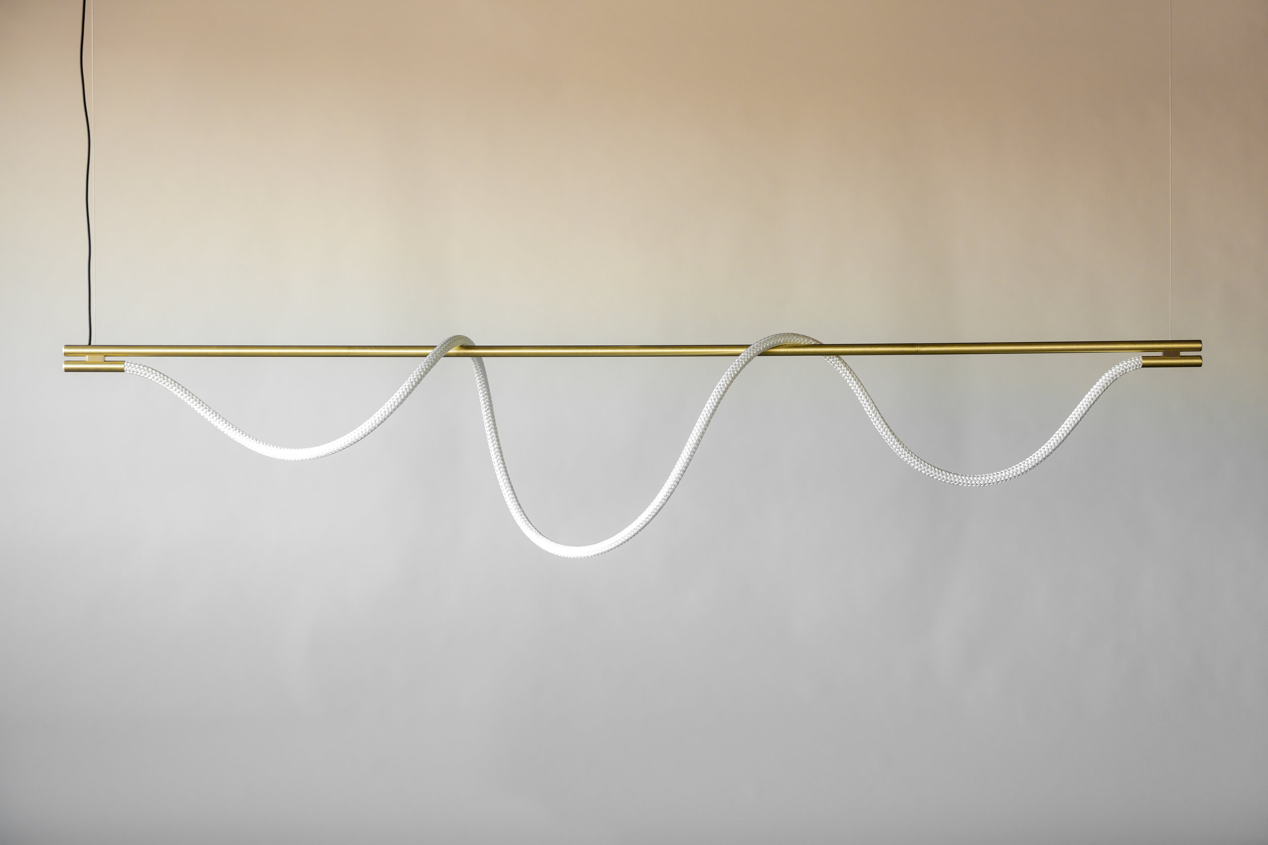 8' Surrey Suspension IV - Cable  (pictured in Satin Brass / turned off)
