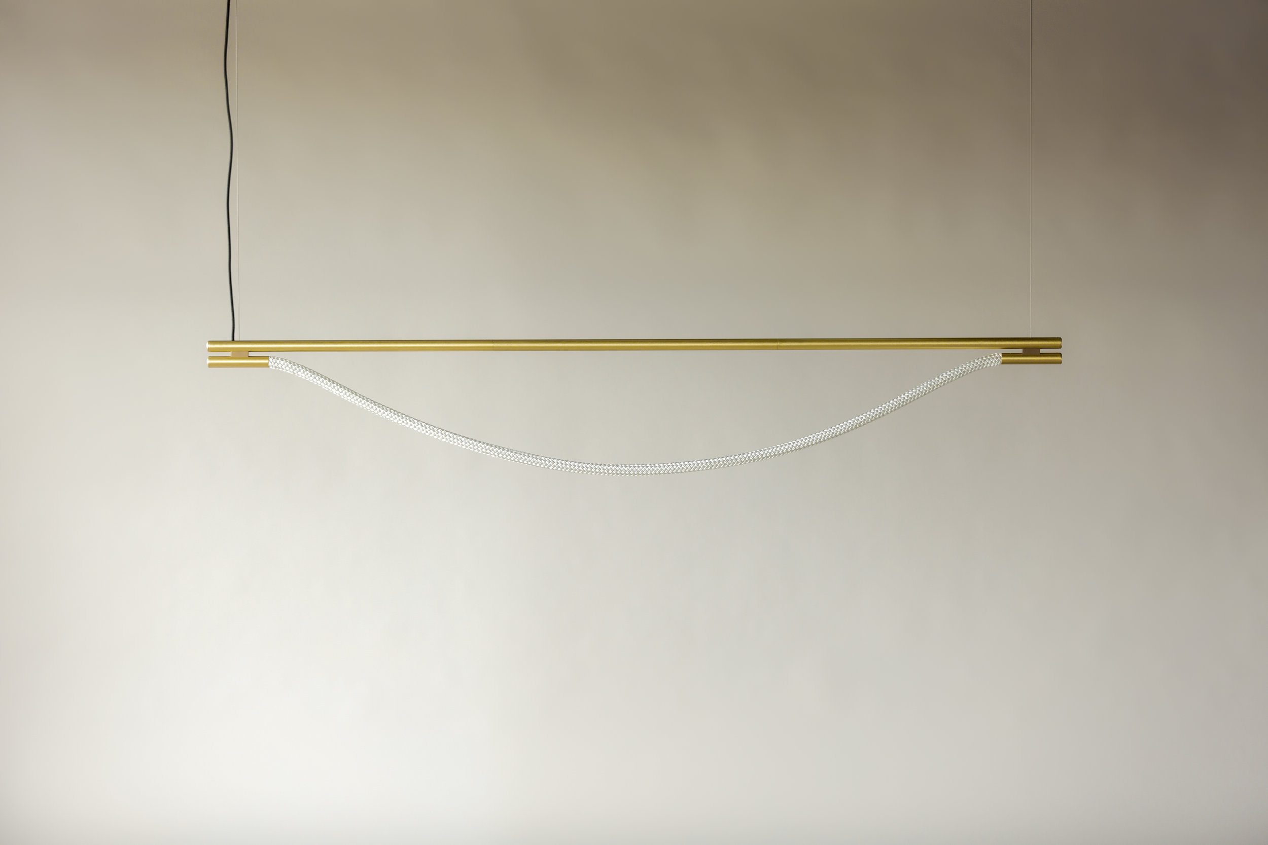 6' Artemis Suspension I - Cable  (pictured in Satin Brass / turned off)