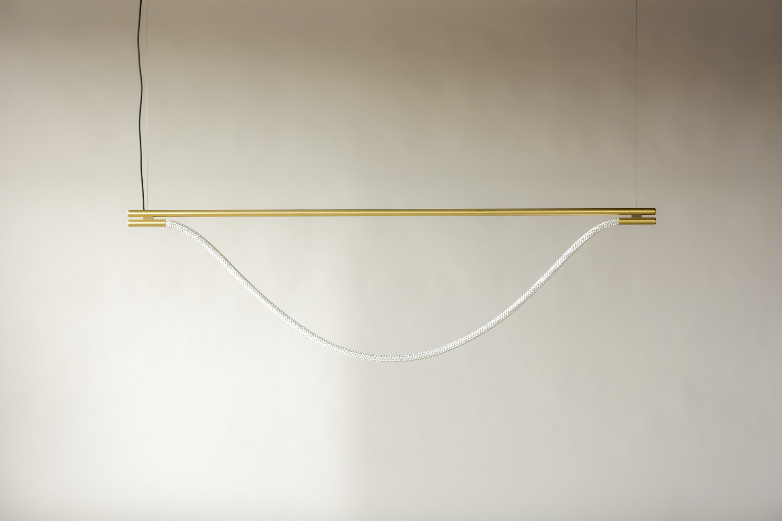 6' Artemis Suspension II - Cable  (pictured in Satin Brass / turned off)
