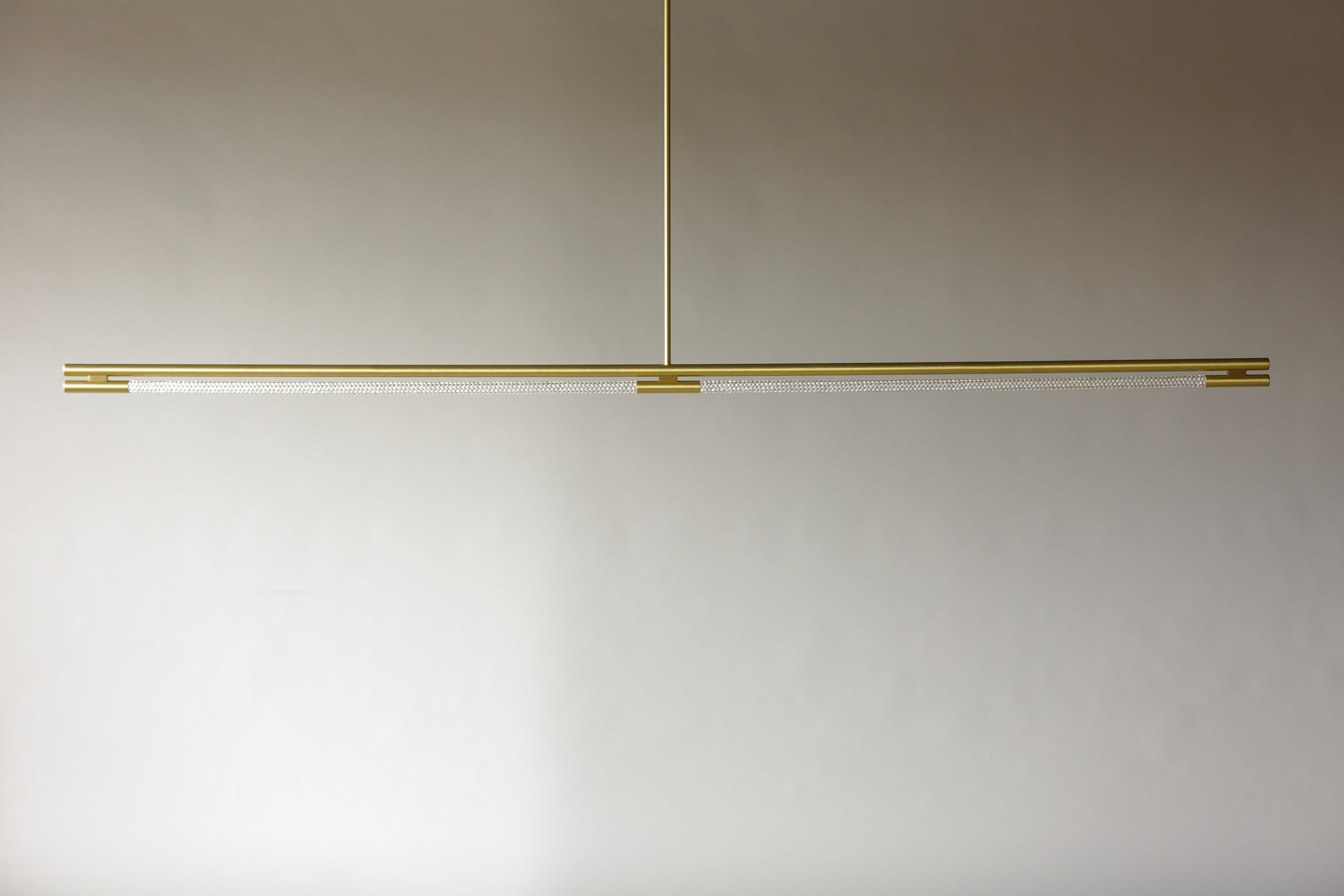 8' Leto Suspension - Rod  (pictured in Satin Brass / turned off)