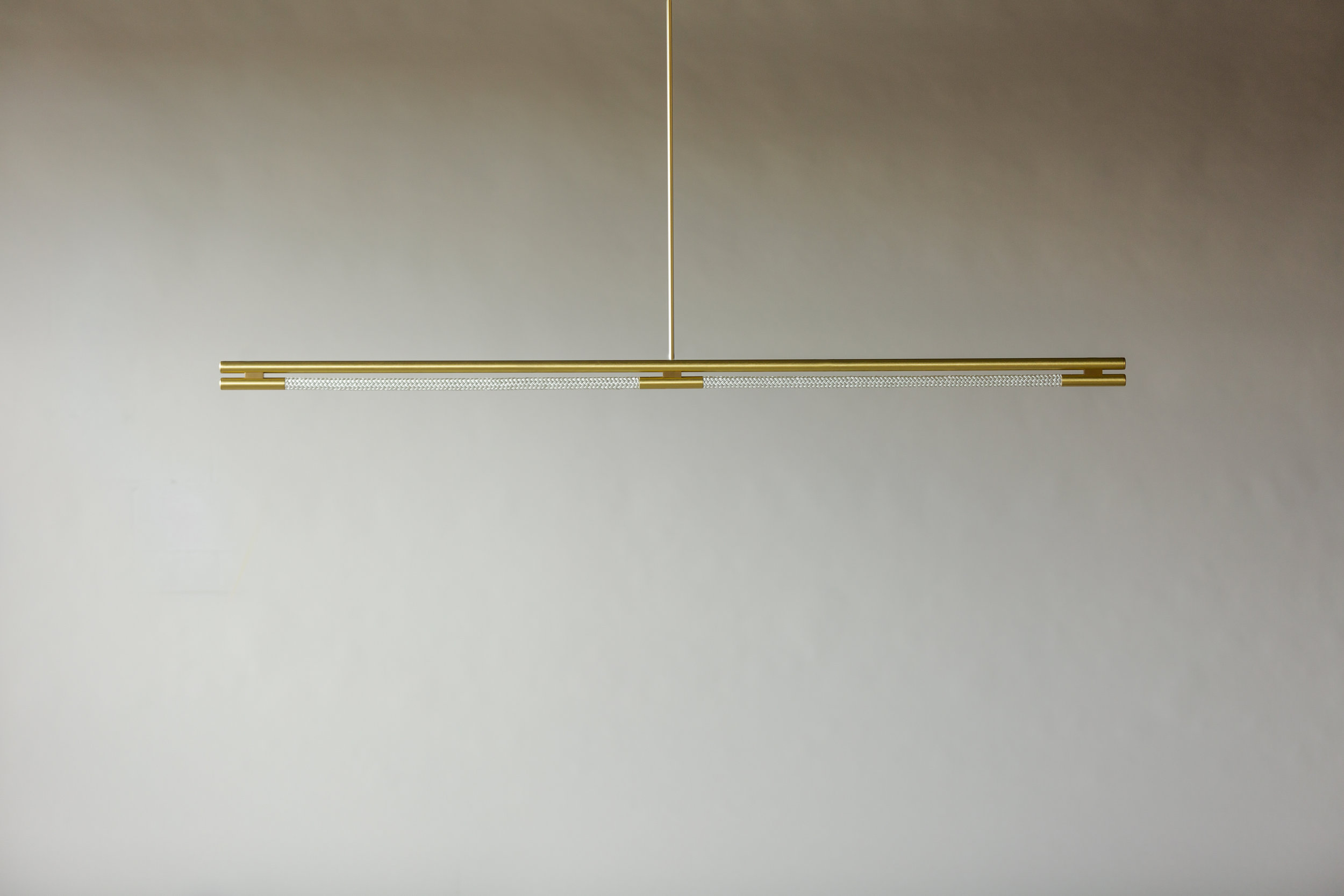 6' Leto Suspension - Rod  (pictured in Satin Brass / turned off)