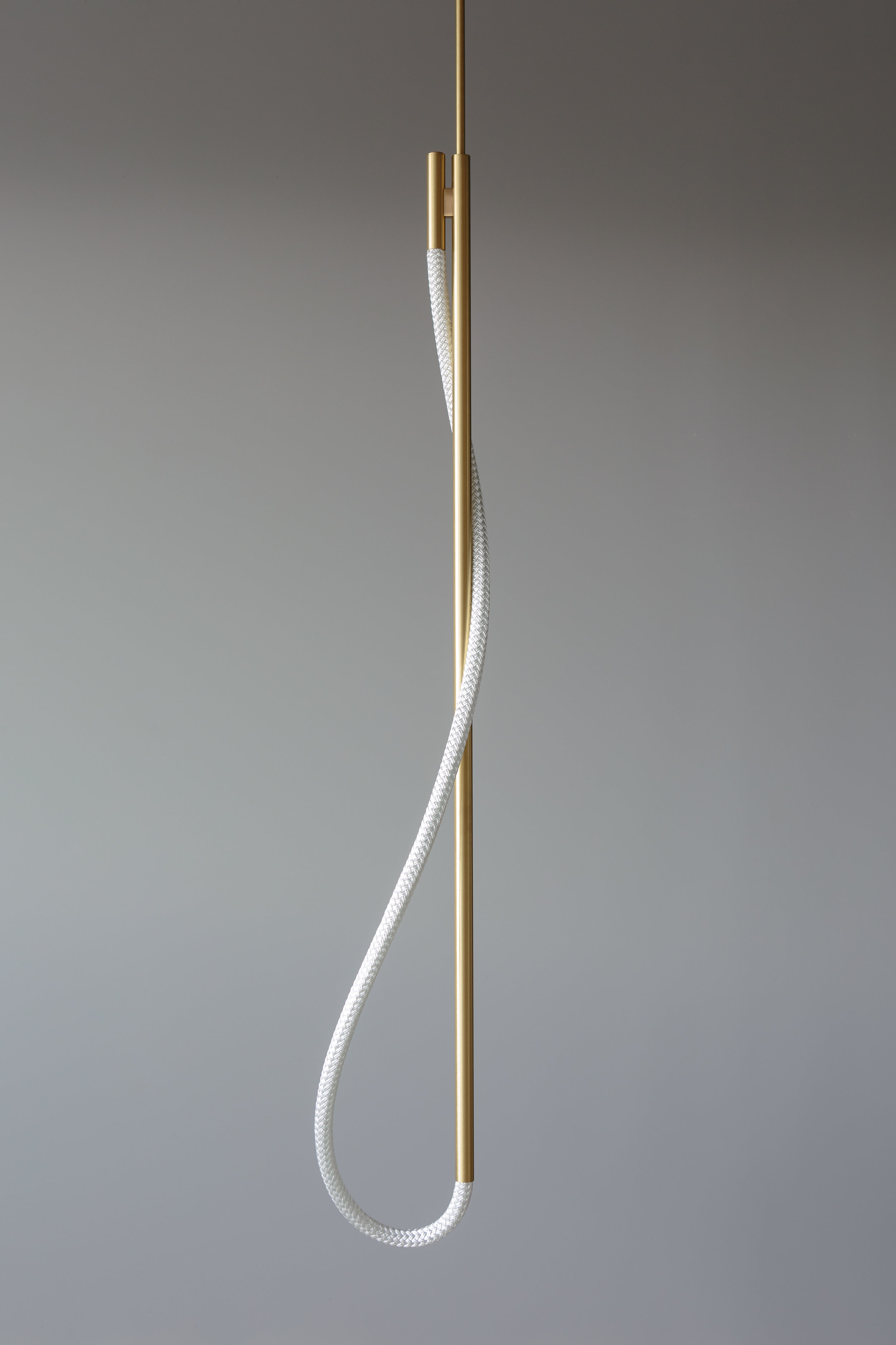 4.5' Surrey Pendant (pictured in Satin Brass / turned off)