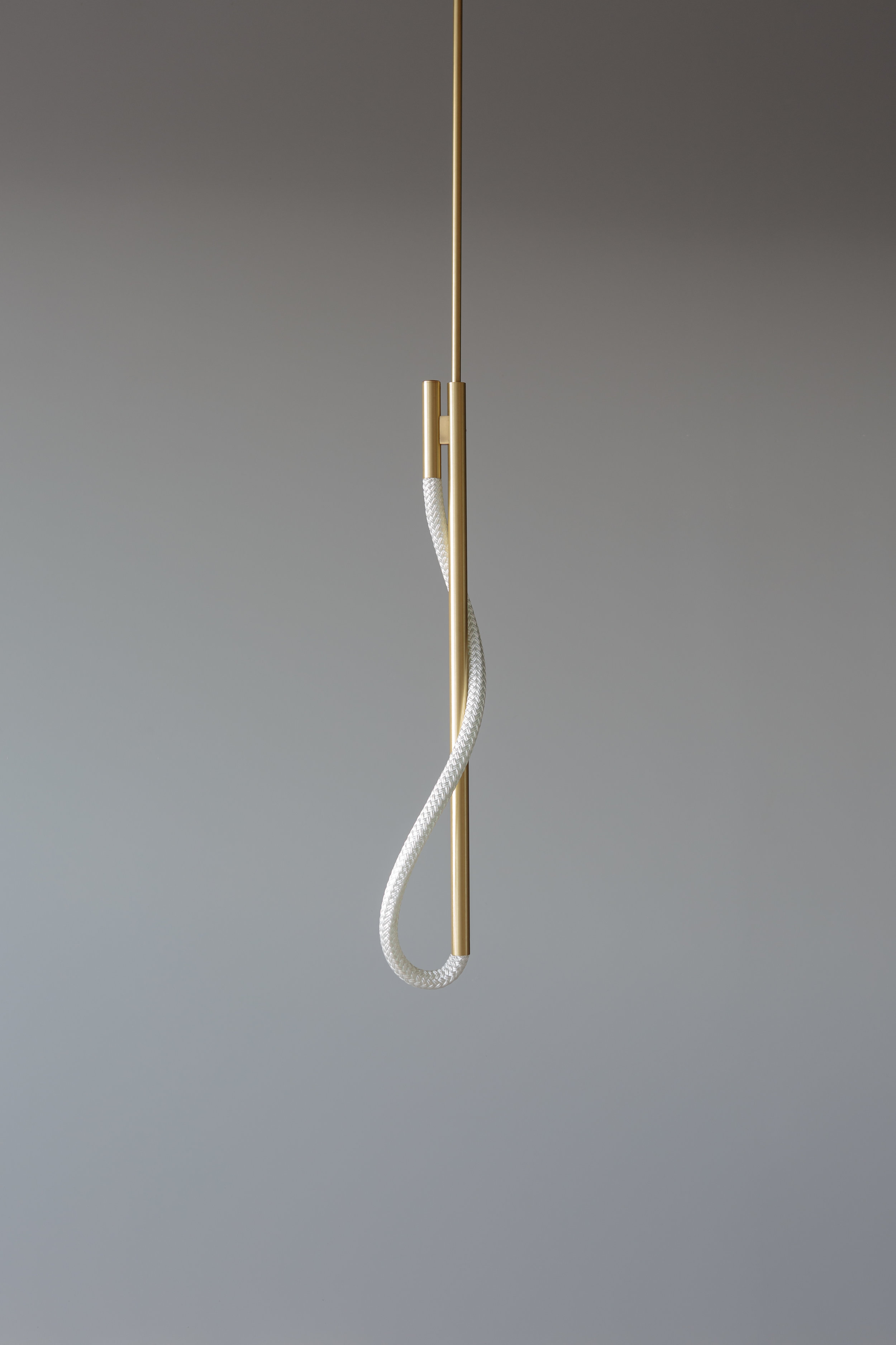 2.5' Surrey Pendant (pictured in Satin Brass / turned off)