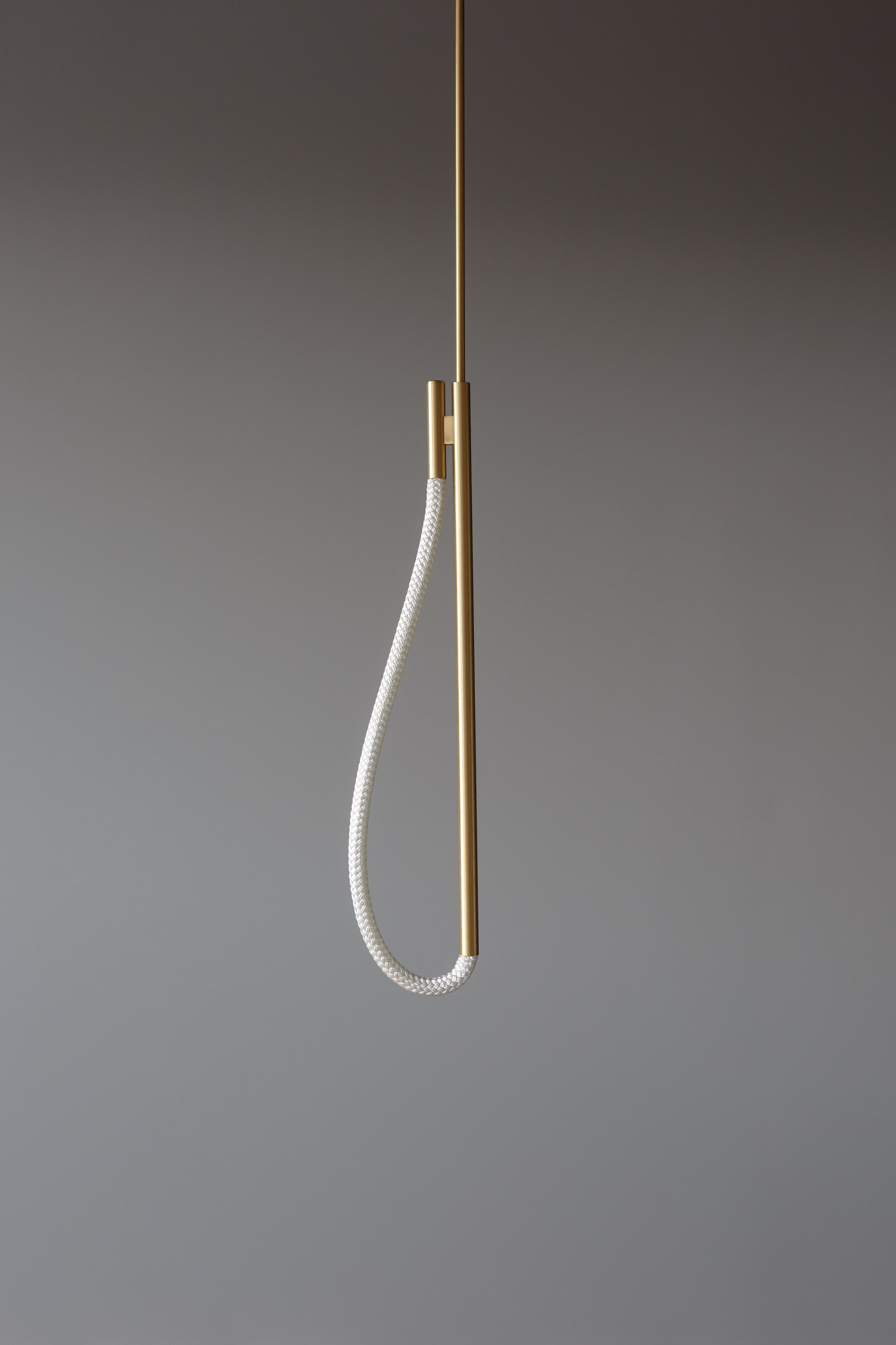 2.5' Artemis Pendant (pictured in Satin Brass / turned off)