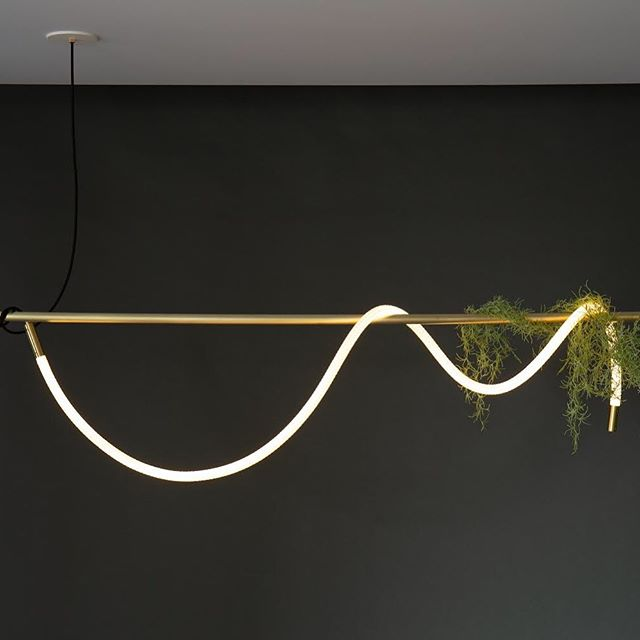 The Tracer Loop with one free end can be wrapped around fabricated frames, exposed pipe, beams, reclaimed wood, or whatever else your heart desires....we won't judge 🤷♀️