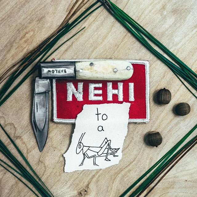 Antique Barlow pocket knife, vintage NEHI Soda patch, & doodles. Come check out the new goods!  #DoodlesNotIncluded #FindOfTheWeek