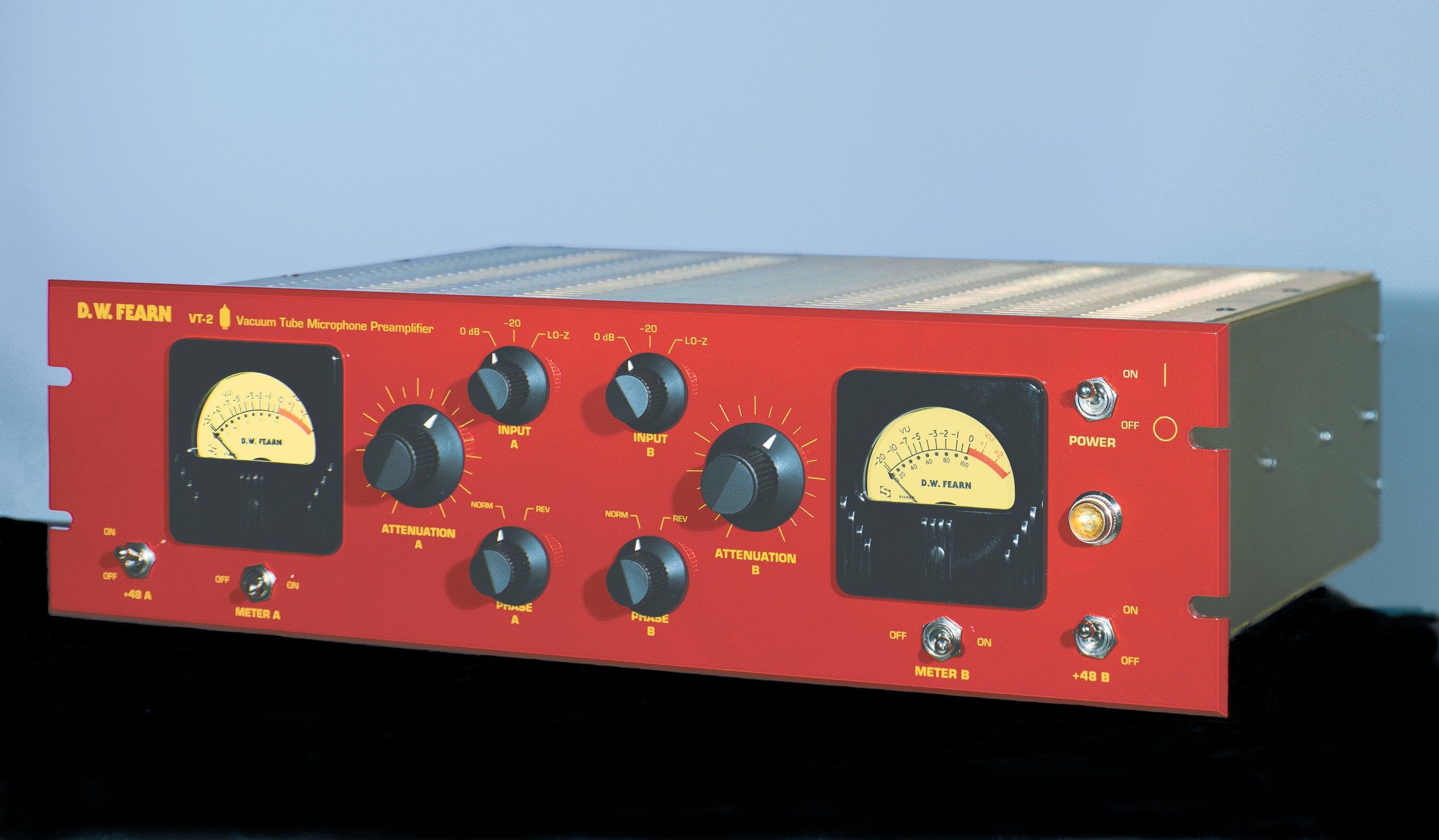 The D.W. Fearn Vt-2 Mic Preamp