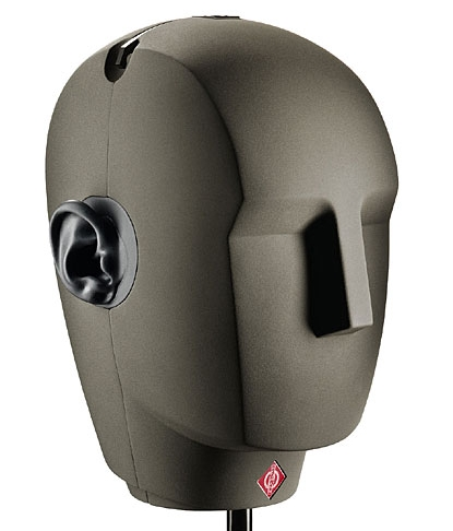 The Neumann KU-100 Binaural Dummy Head
