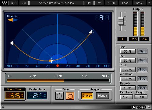 Waves Doppler Plug-In