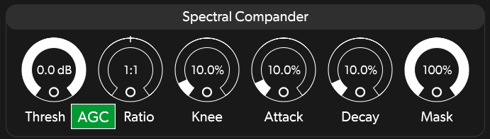 Spectral Compander SpecOps Section