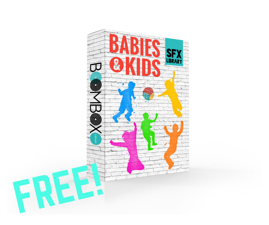 Free Download! - Check out the Babies & Kids sound effects library by downloading the free sample!