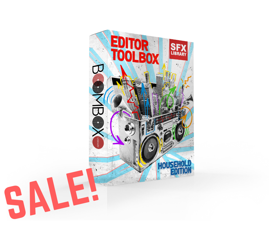 Editor Toolbox: Household Edition SFX Library - Was $15 / Now $9