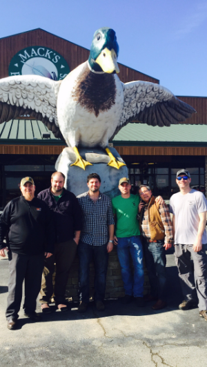 Mack's Prairie Wings: The go-to for hunting supplies.