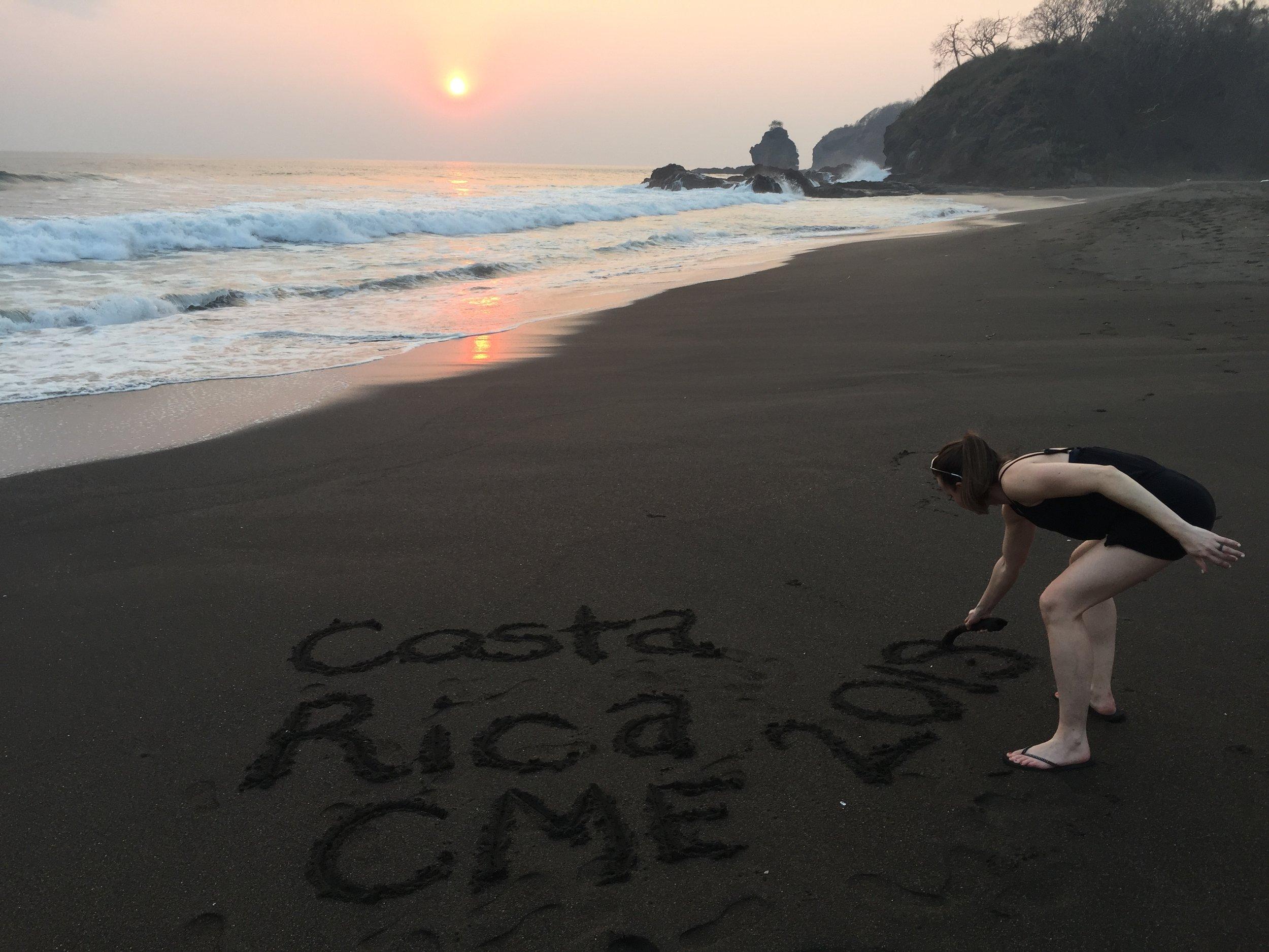 Costa Rica CME Beach