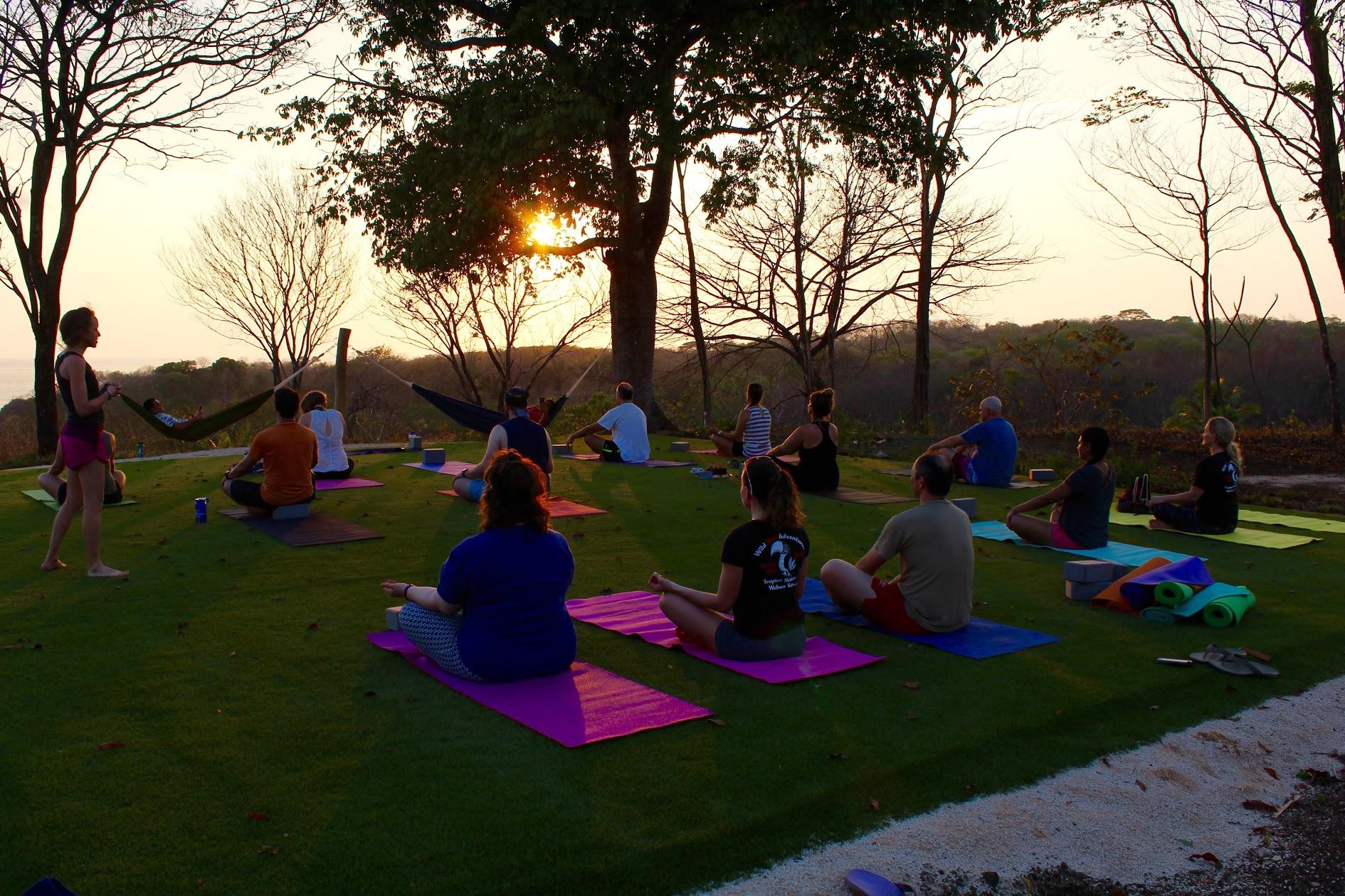 Sunset Yoga - Costa Rica