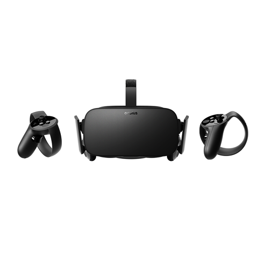 Oculus Rift - Rental includes: 1 Oculus Rift headset + VR Cover, 2 controllers, 3 sensors, 1 usb extra long cable, cleaning wipes, extra AA batteries for controllers, traveling bag. Please note the Oculus Rift needs to be connected to a VR-ready laptop to work properly. Pricing: $50 for 90 min or $120 per day.