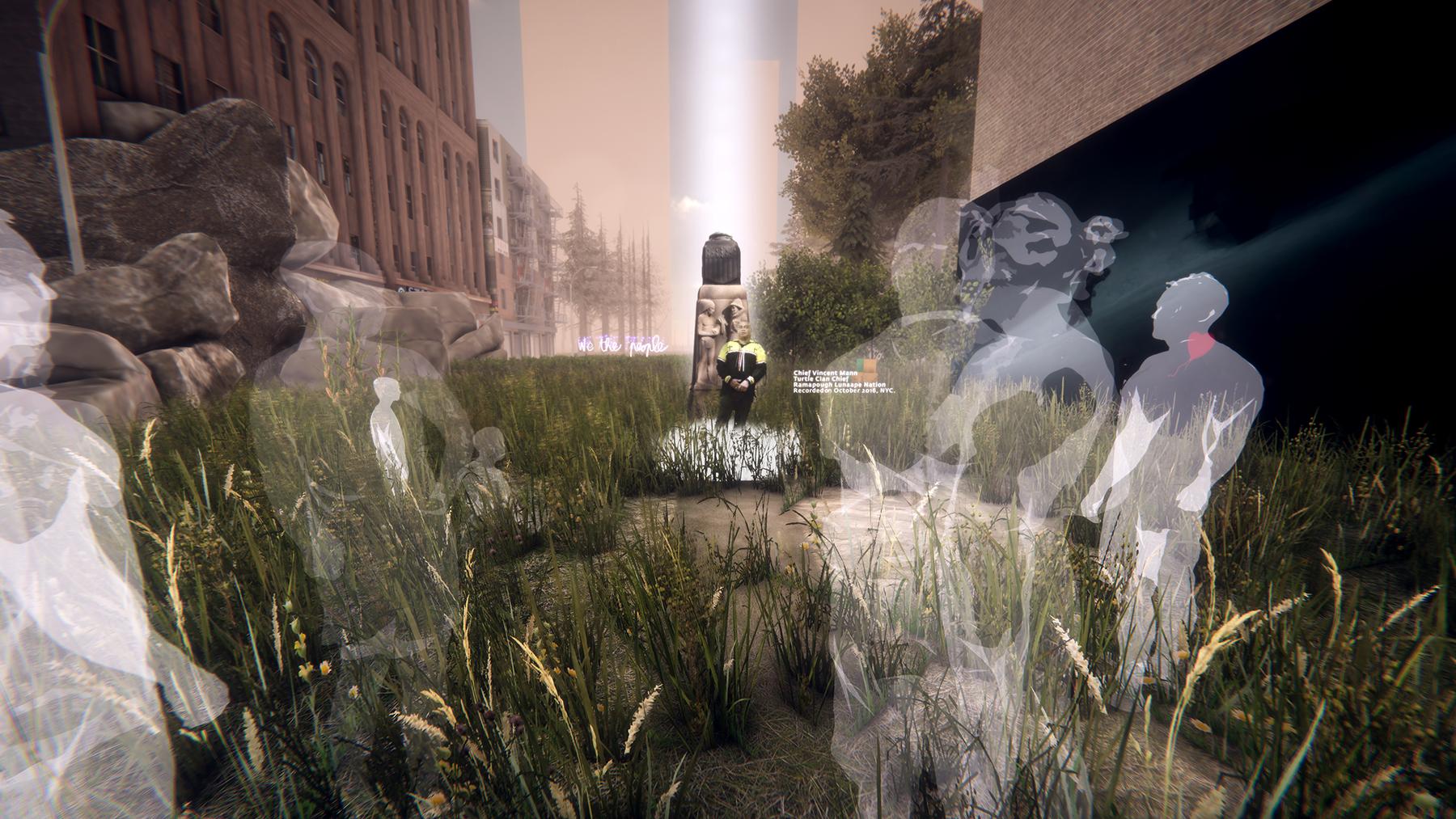 Mannahatta VR in-game screenshot (feat. Chief Vincent Mann)