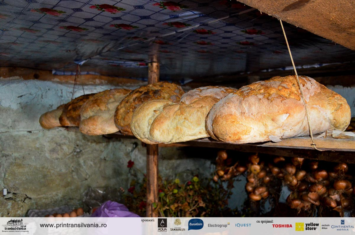 Traditional bread from Apuseni mountains
