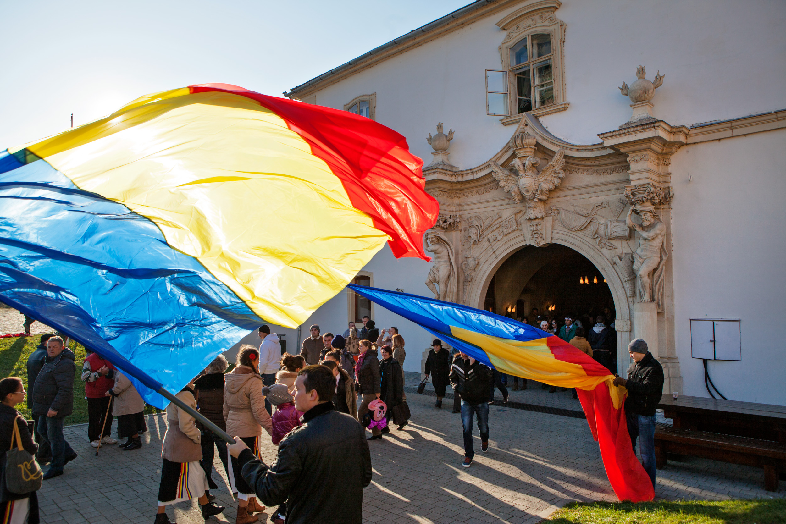 Celebrating the National Day in Alba Iulia