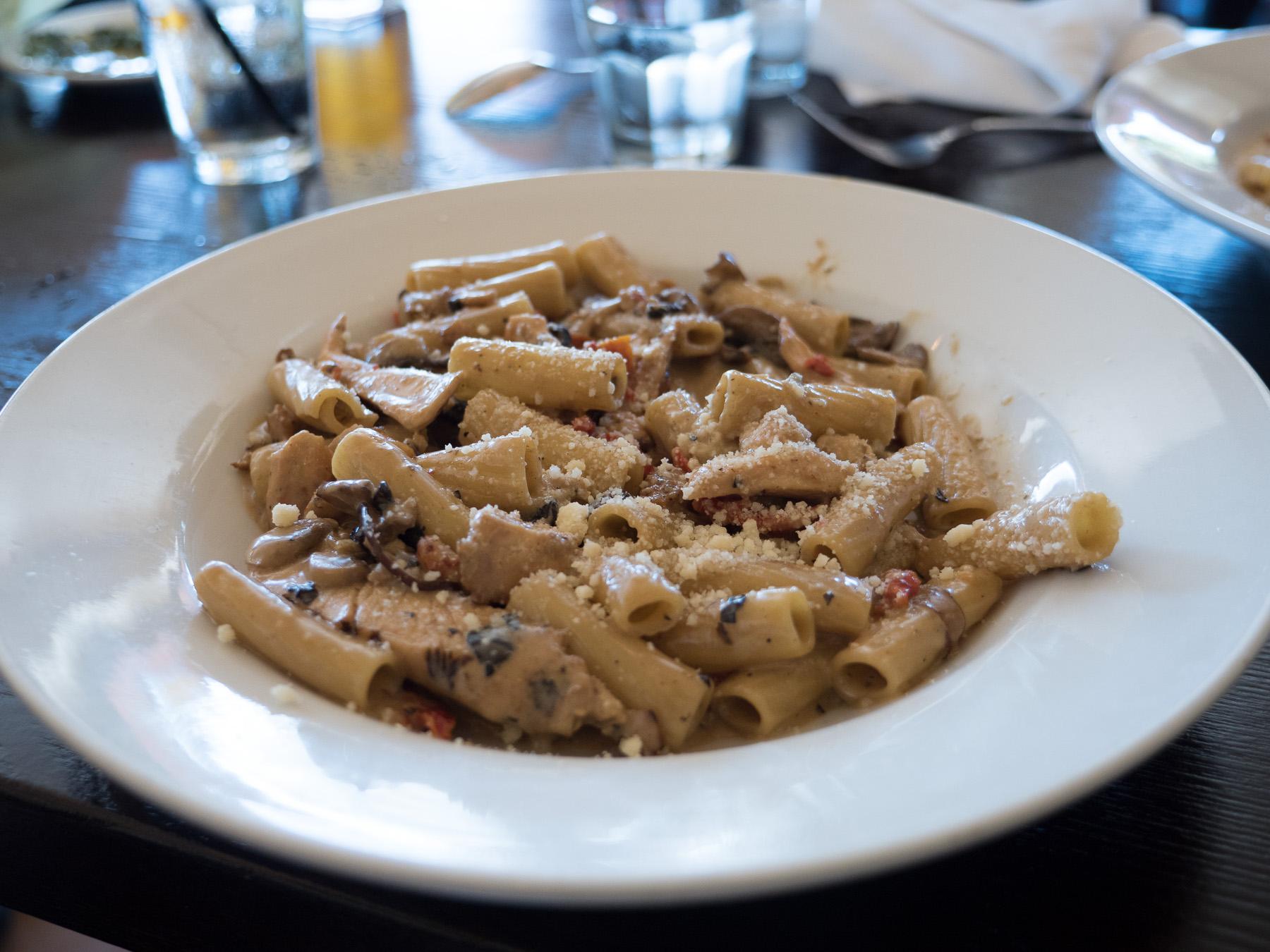 Pasta #2 Rigaton Toscana.ISO 400, f/2.8, 1/100th