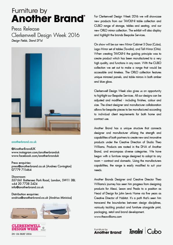 Clerkenwell Design Week 16
