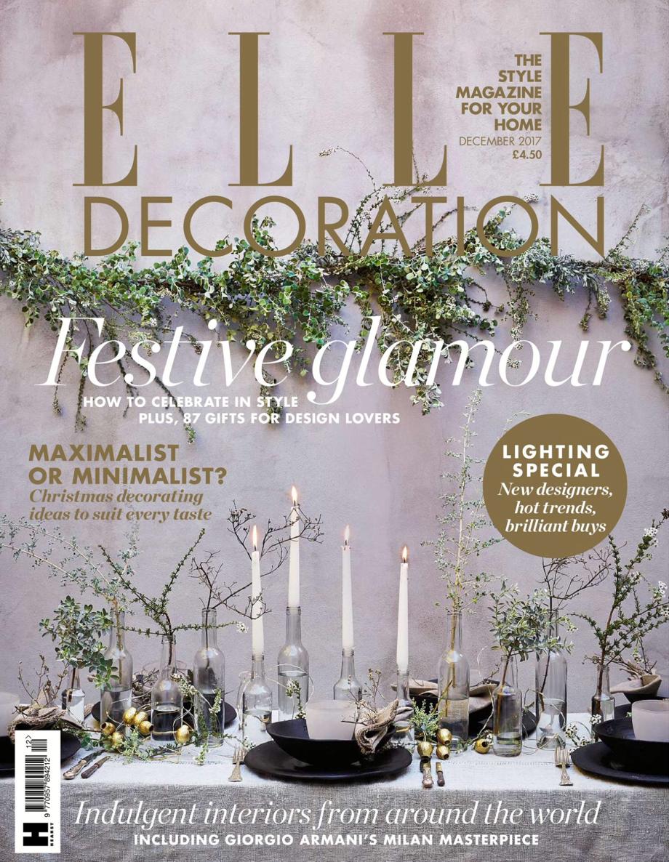 Elle Deco - December 2017