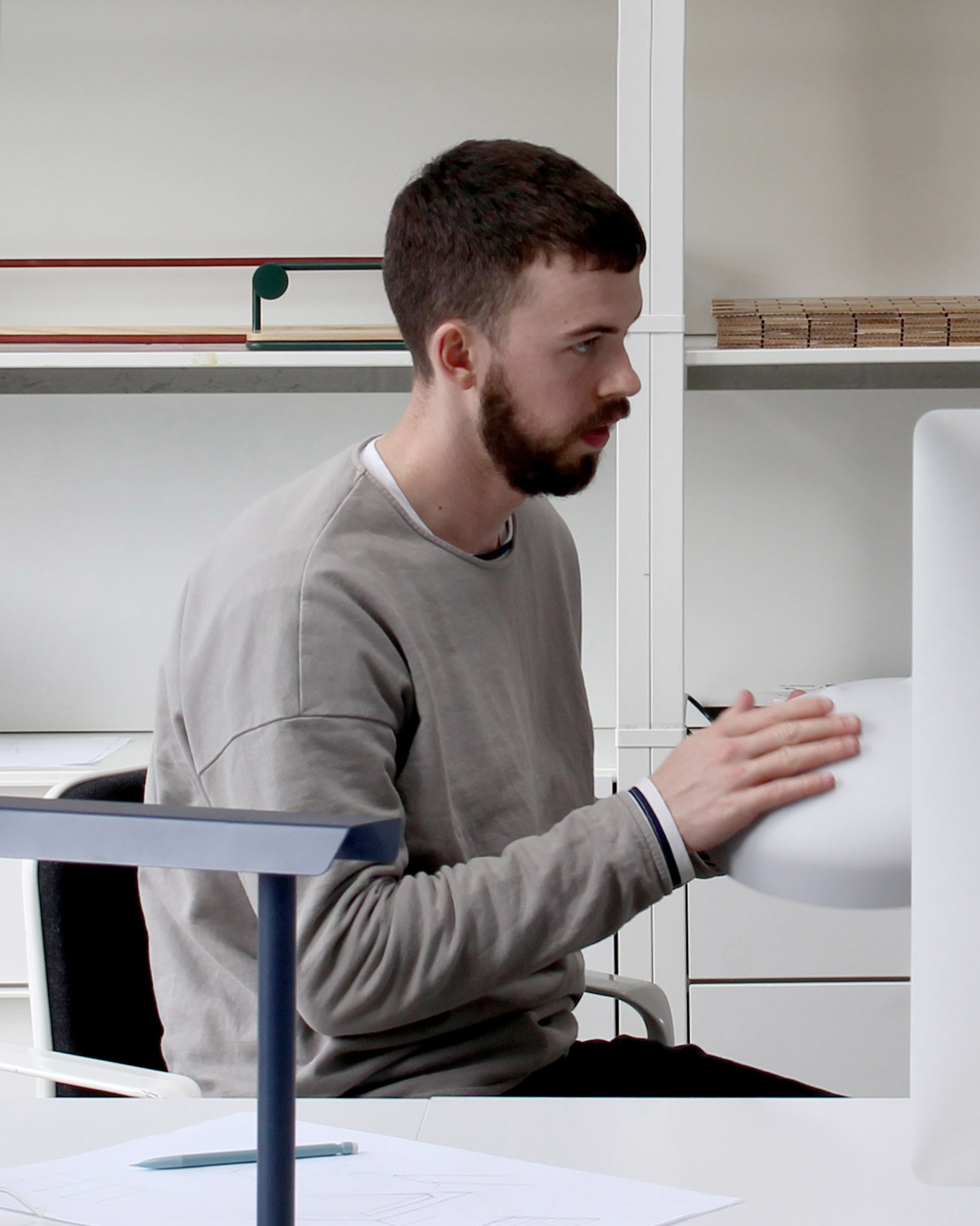 Designed By Emile Jones - Originally trained as a bespoke furniture maker, Emile now works over a range of design disciplines across a number of platforms.The basis and approach for his work stems from an understanding for materials, manufacturing, brand and retail, following the product from concept to consumer. Resulting is simple, innovative and honest design, with a focus on every element down to the last detail, and above all useful.