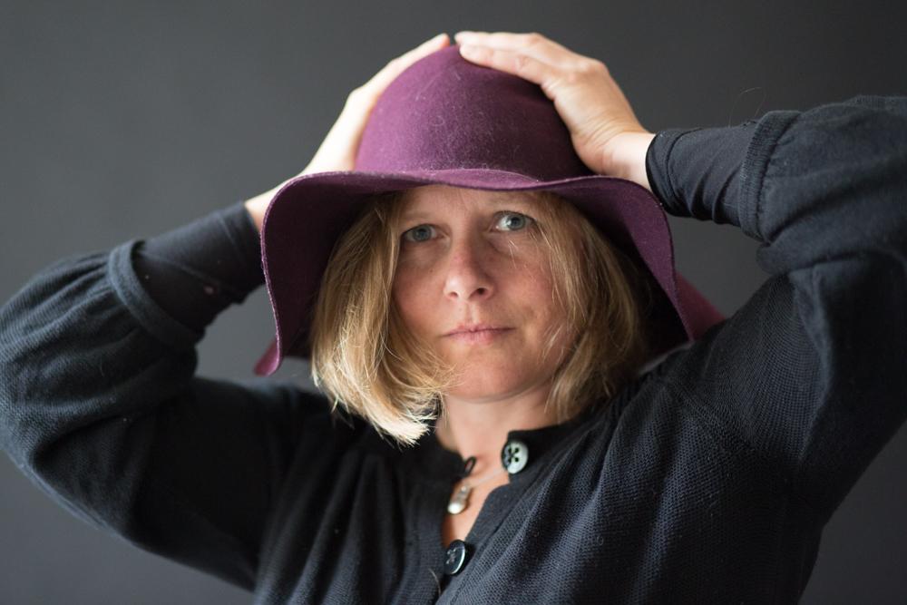 Ruth Packham in Studio