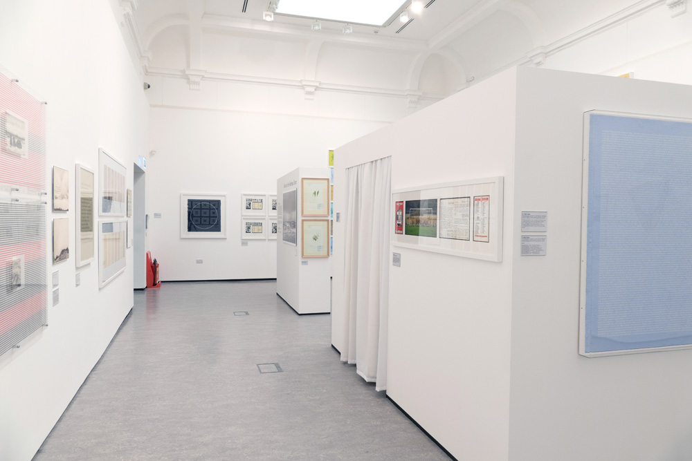 Part of the exhibition space in the Atkinson gallery in Southport.