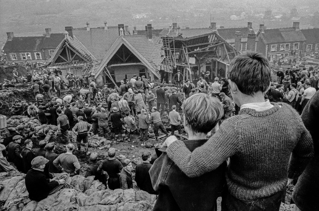 Overlooking the Aberfan Disaster