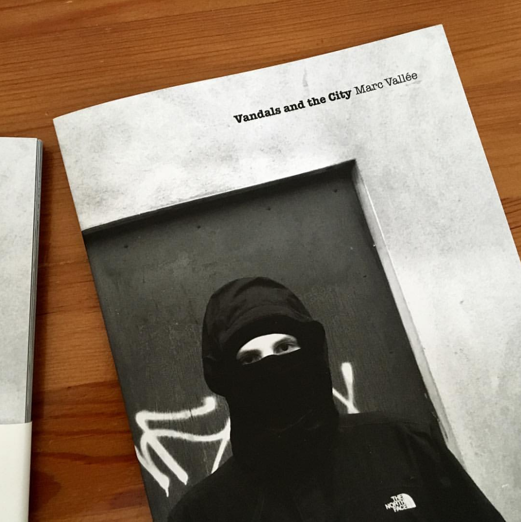 Marc's 'Vandals and the City' Zine published in 2016