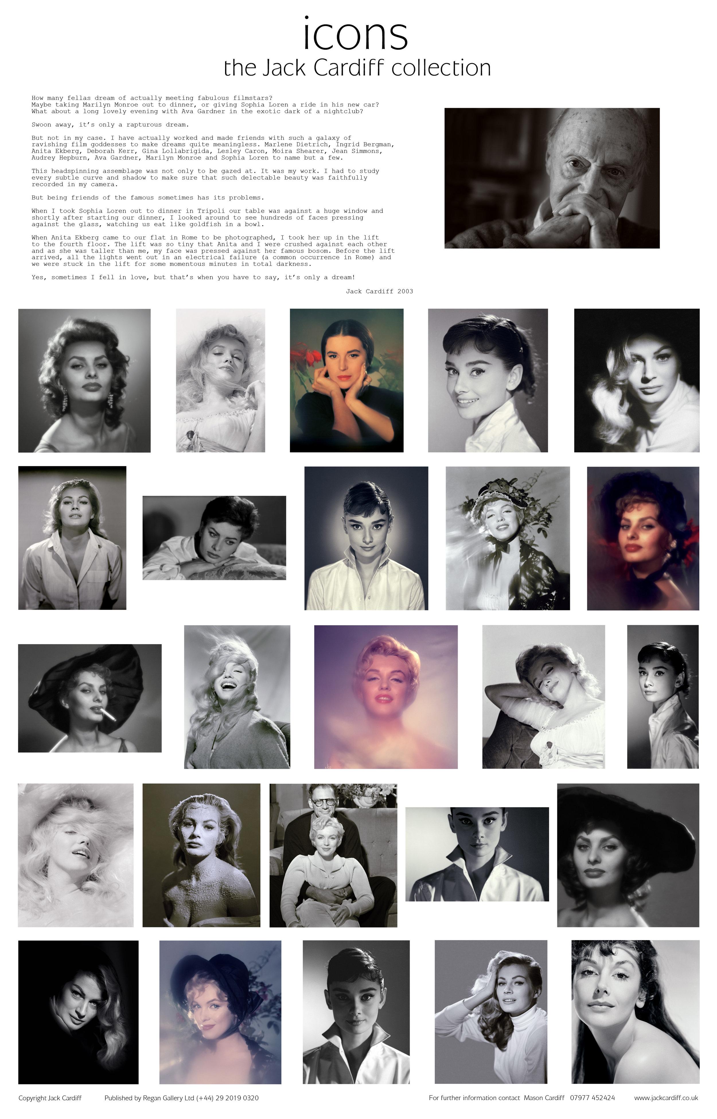 Jack Cardiff icon photography