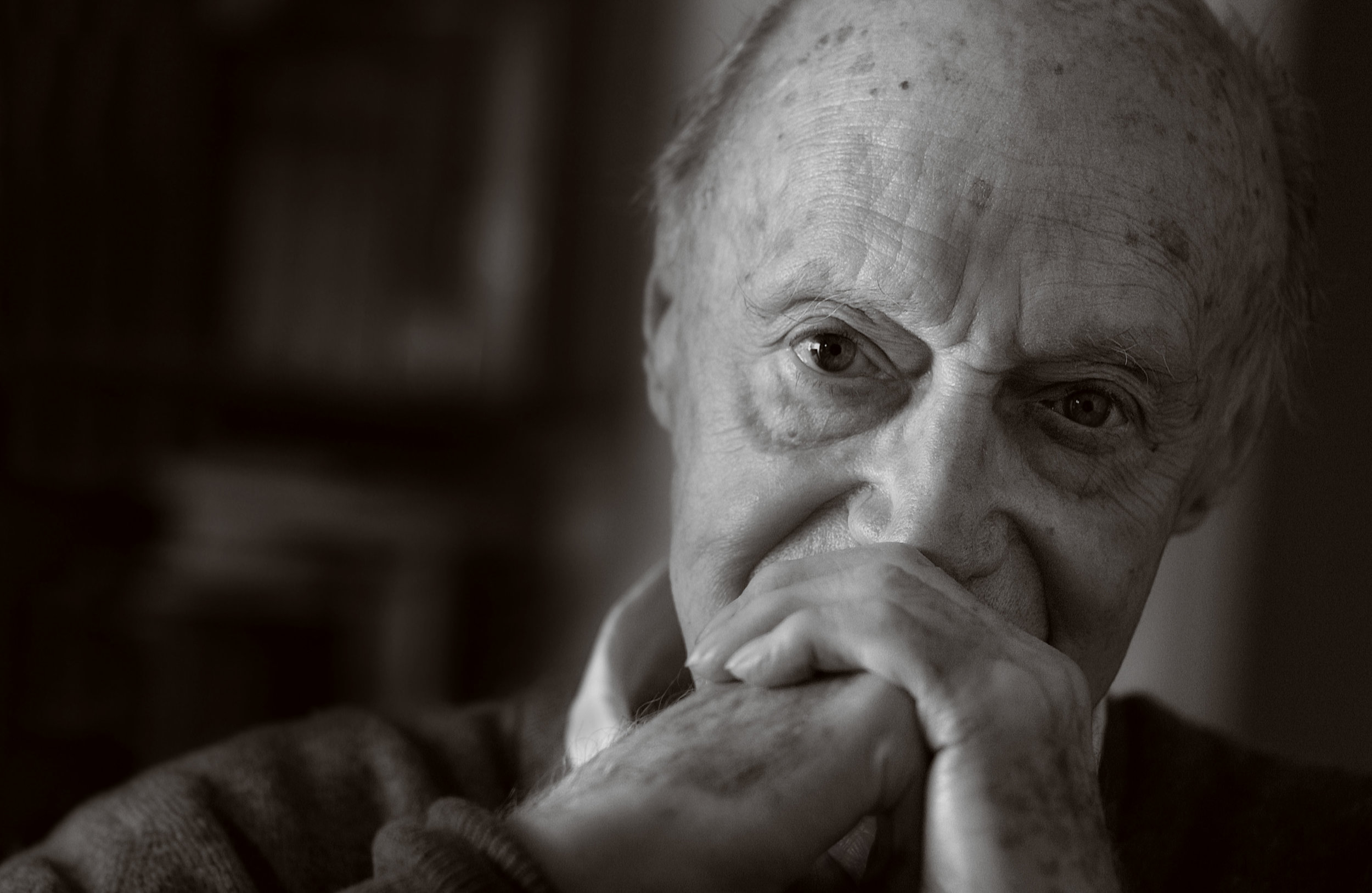 Jack Cardiff OBE, BSC, Cinematographer. Portrait © Simon Regan