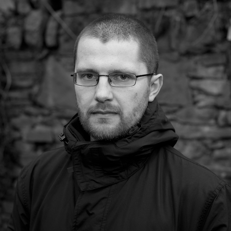 Bartosz Newicki of Third Floor Gallery. Image © Claire Kern