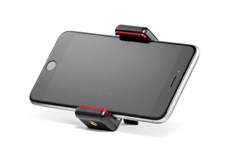A Manfrotto mount - under £10.00 on Amazon
