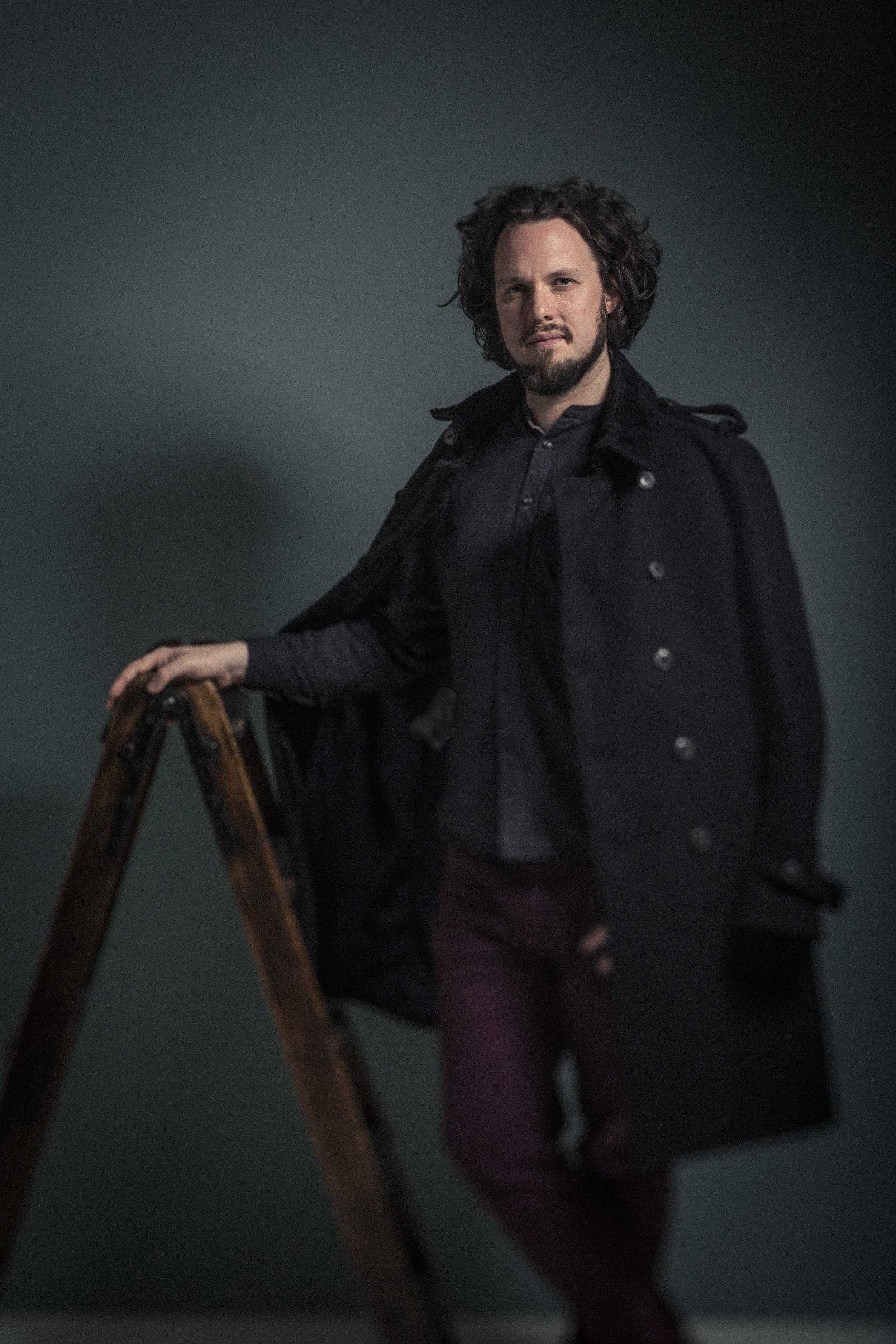 Alex Boyd. Portrait ©Laurence Winram