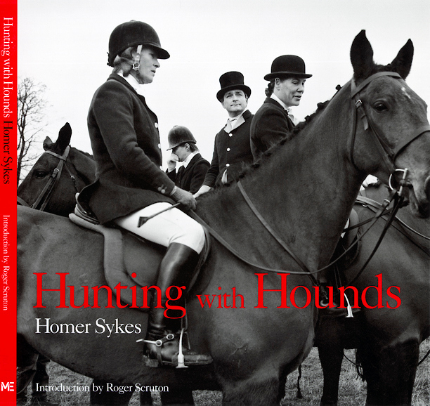 HOMER SYKES HUNTING WITH HOUNDS book cover