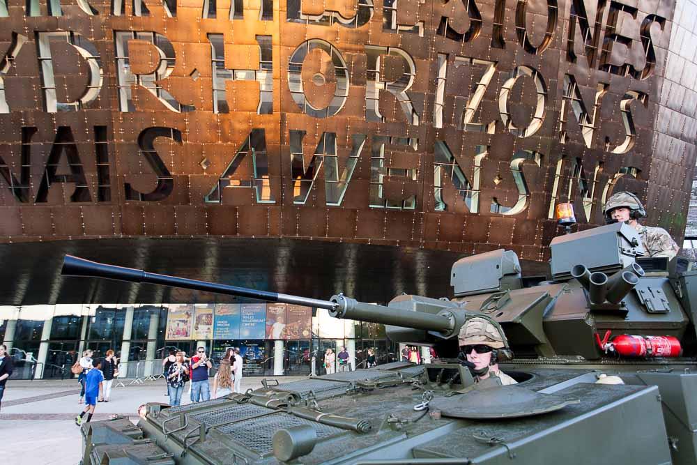 Copy of NATO Parade, Cardiff, 2014