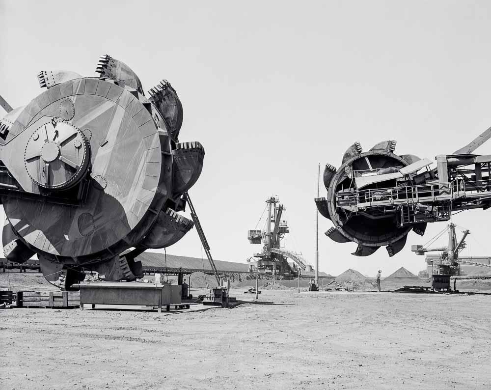Copy of Iron Ore reclaimers - Port Headland- Western Australia, 1983