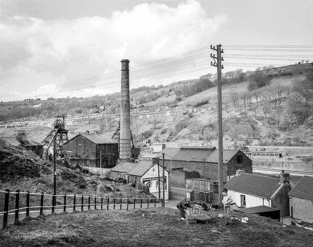 Copy of Lewis Merthyr colliery, Trehafod, South Wales, 1984