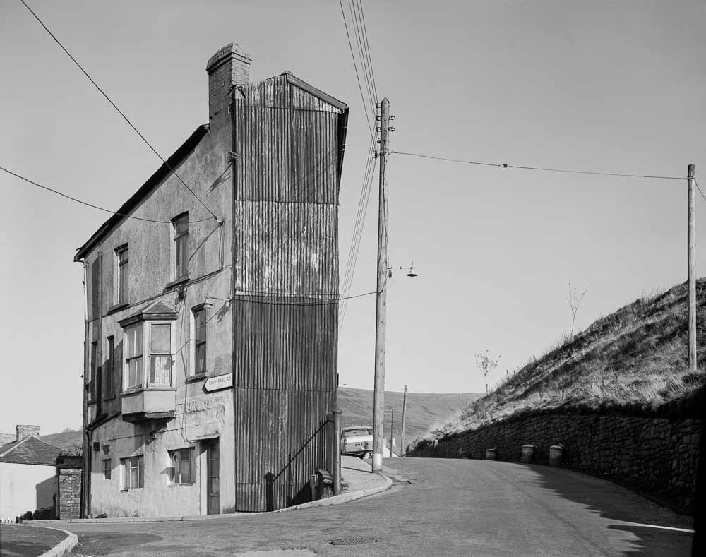 Rhiw Parc Road, Abertillery, South Wales, 1977