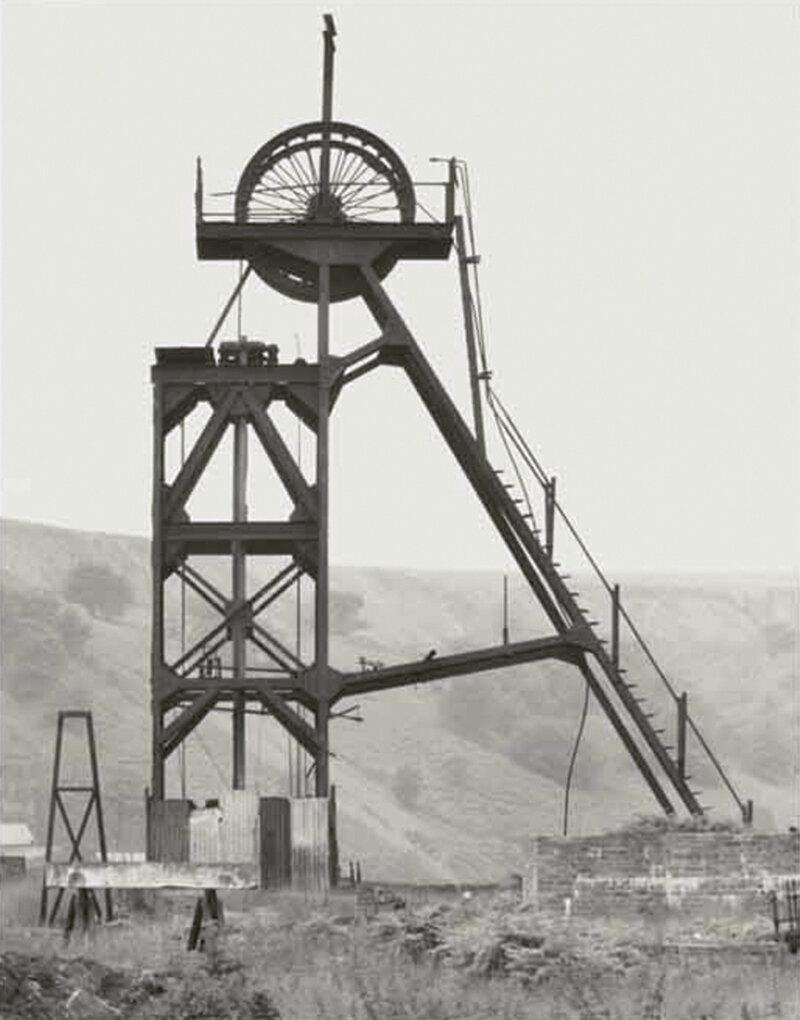 Bernd and Hilla Becher: Blaenserchan Colliery, Pontypool, South Wales, GB, 1966 © Estate Bernd & Hilla Becher, represented by Max Becher, courtesy Die Photographische Sammlung/SK Stiftung Kultur – Bernd und Hilla Becher Archive, Cologne, 2019
