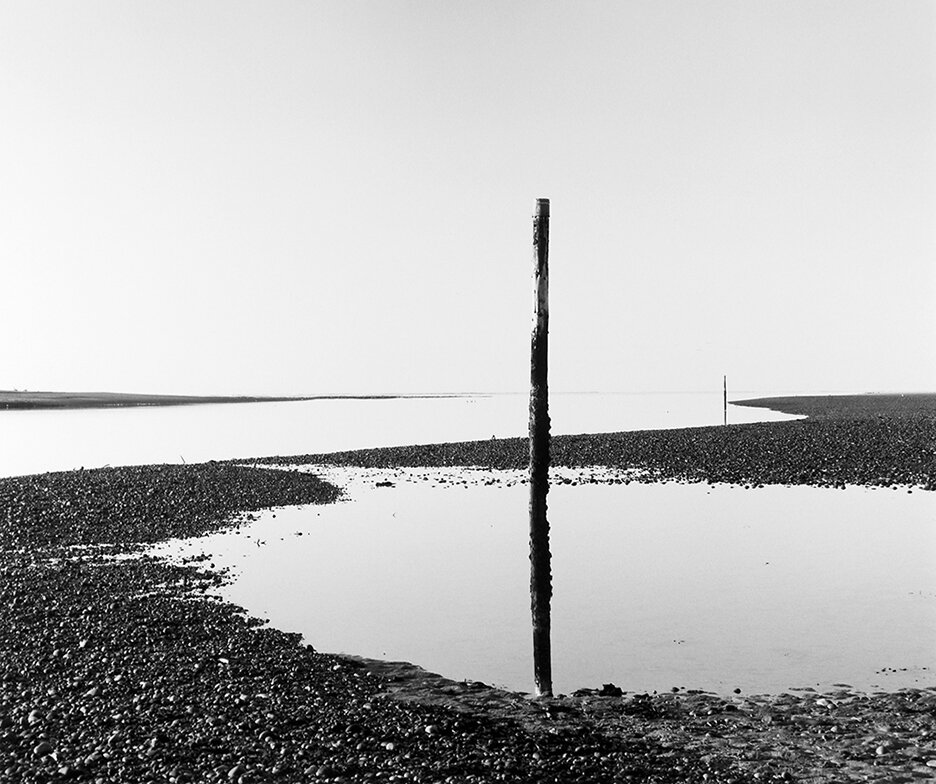 Marker Posts, Findhorn, 2003