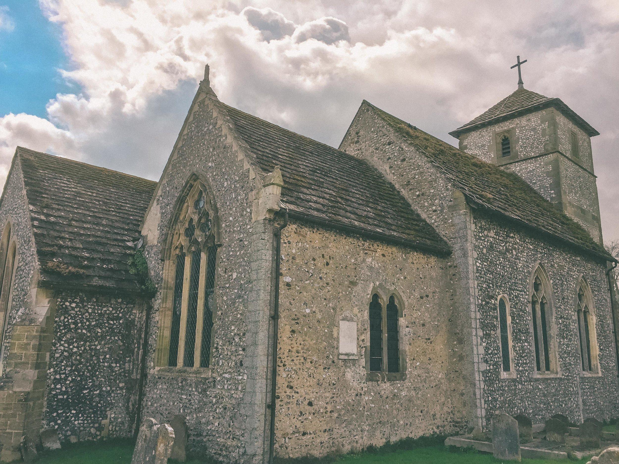 Wiston Chapel, Steyning, West Sussex, UK